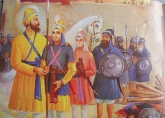 Ajit Singh and Jujhar Singh, the two elder sons of Guru Gobind Singh, martyred (21 Dec)