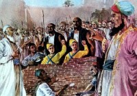 Zorawar Singh, and Fateh Singh, the two younger sons of Guru Gobind Singh, executed in Sirhind (26 Dec)