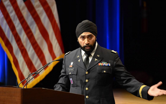 Sikh Americans get backing to serve in military with beards, turbans